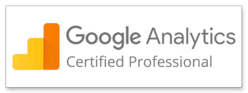 Google Analytics Certified Professional Badge